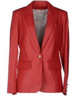 Pierre Balmain Leather power jacket