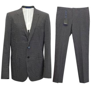Paul Smith black and white suit