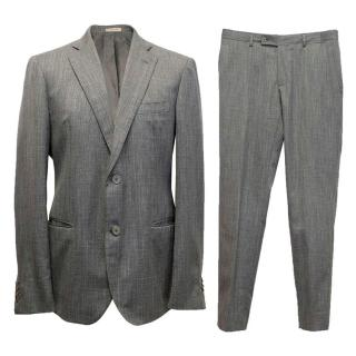 Bottega Veneta Grey Wool Suit