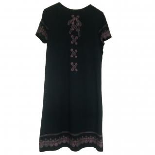 See By Chloe Black Cotton Dress
