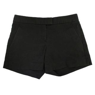 Theory washed off black shorts