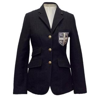La Martina women's navy blazer