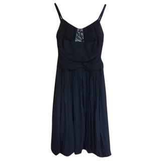 BCBG MaxAzaria silk dress