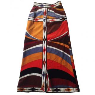 Pucci  vintage velvet skirt