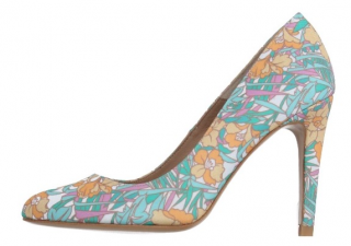 Manoush Floral Court Shoes