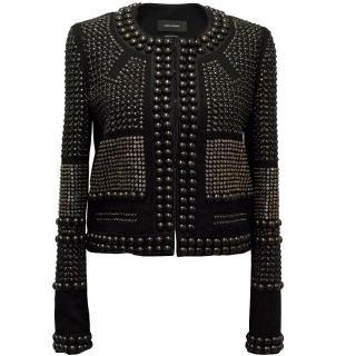 Isabel Marant Black embellished jacket