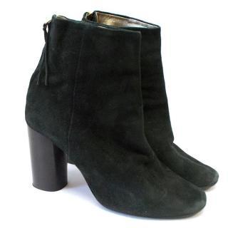 Isabel Marant Black black suede booties