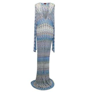Missoni blue kaftan