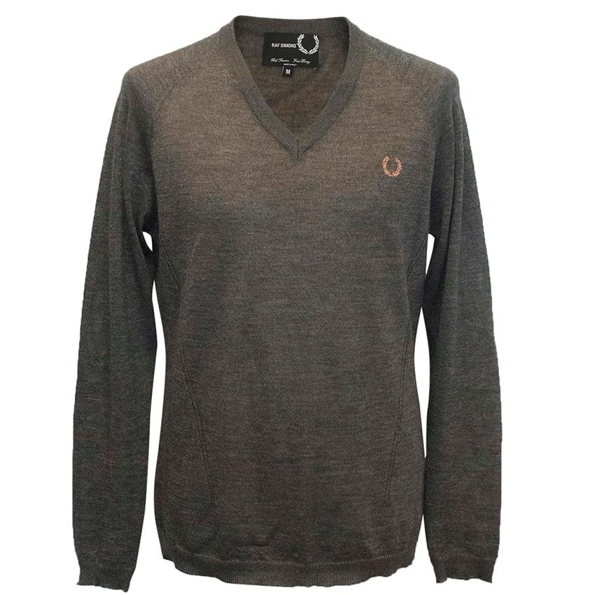 Raf Simons Fred Perry grey jumper