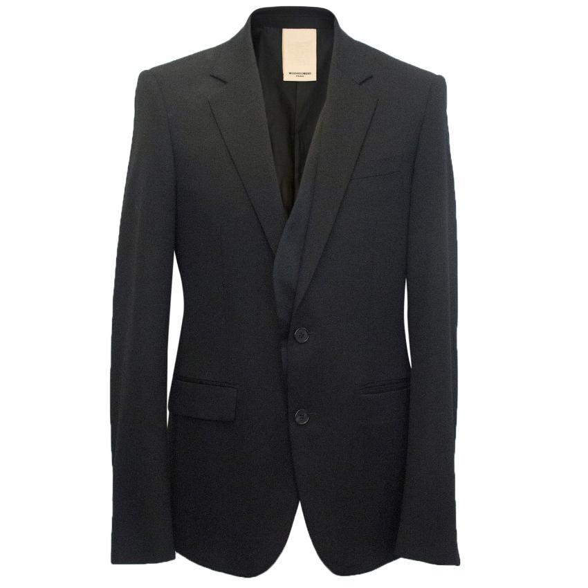 Wooyoungmi Men's black blazer