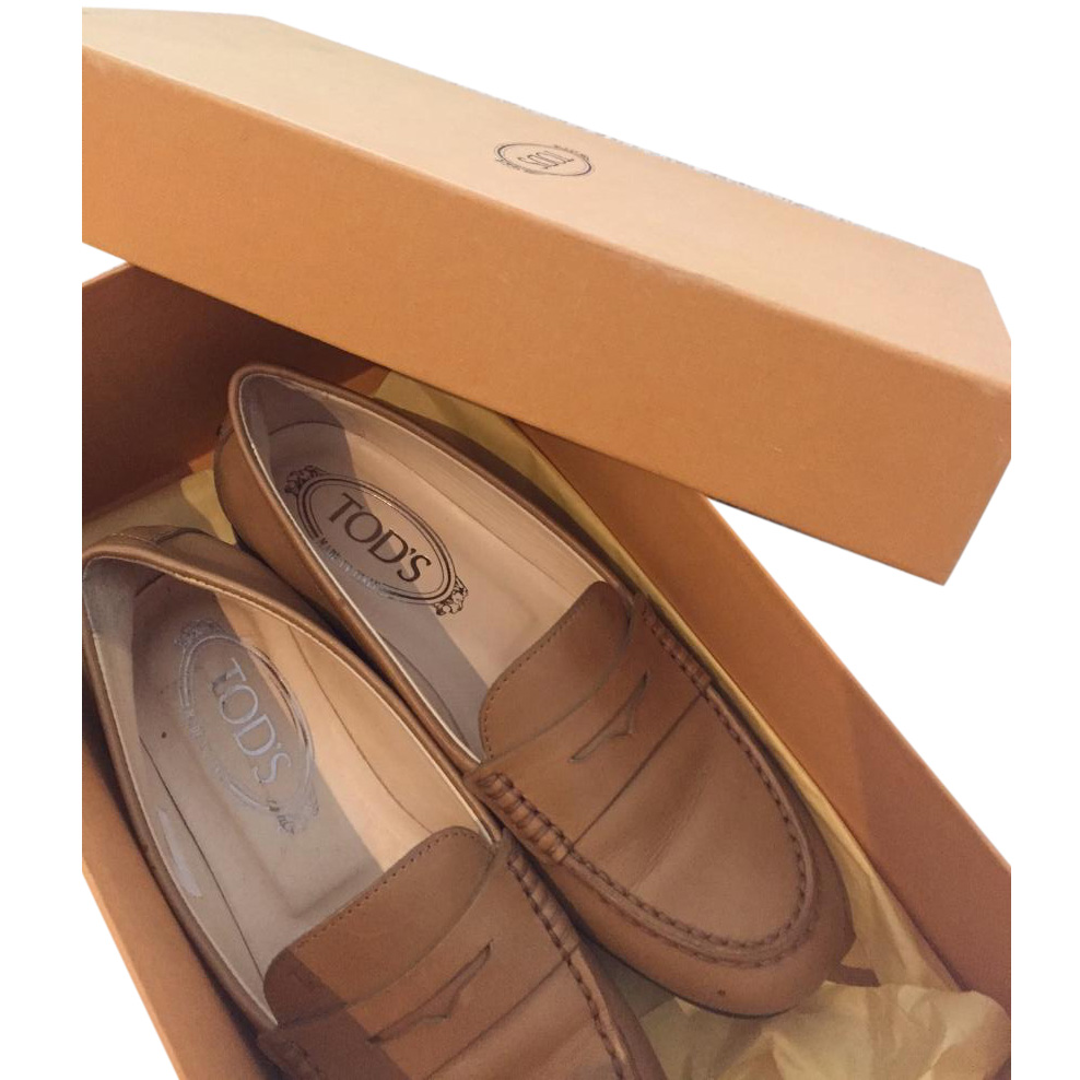 Tod's Gommino Leather Shoes