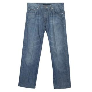Calvin Klein blue straight cut jeans