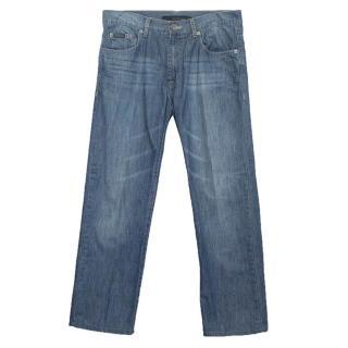 Calvin Klein blue straight cut jeans