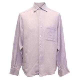 Ermenegildo Zegna lilac shirt