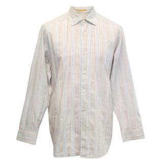 Tommy Bahama grey patterned shirt