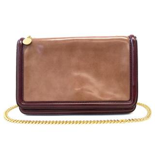 Stella McCartney Brown and burgundy bag