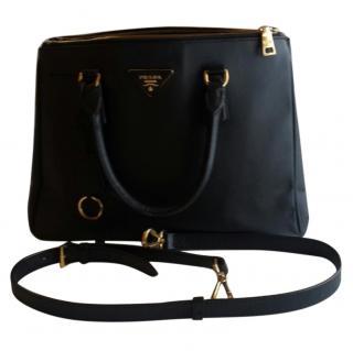 PRADA GALLERIA SAFFIANO Black Leather