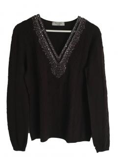Valentino embroidered sweater