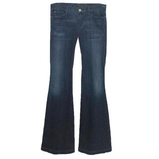 Goldsign dark wash flare jeans
