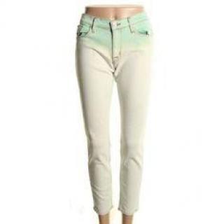 Hudson New Crop Krista Green Skinny Jeans