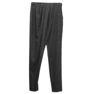 Vionnet Grey wool trousers