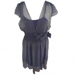 Vera Wang Lavender Label Silk Dress