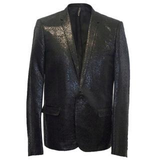 Dior black shimmer jacket