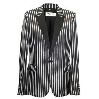 Saint Laurent men's striped blazer