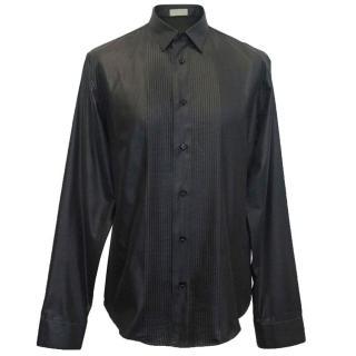 Dior shiny black shirt