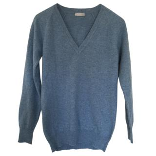 Margaret Howell Blue Cashmere Sweater