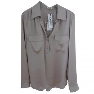 L'Agence taupe blouse