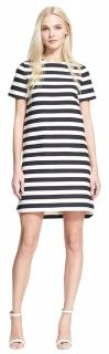 Kate Spade Black & White Striped Dress