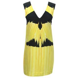 Sass & Bide Yellow Patterned V-neck Sundress