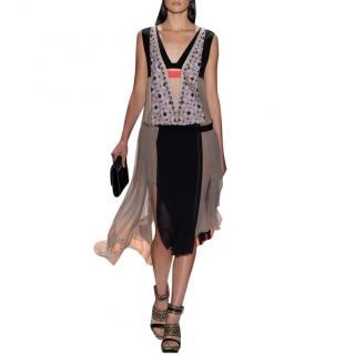 BCBG Max Azria Runway Asymmetric dress