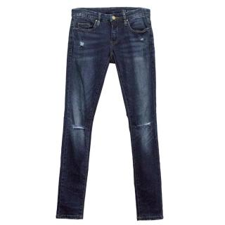 Blank NYC blue jeans