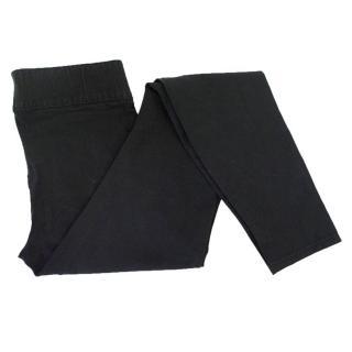Helmut Lang black leggings style jeans