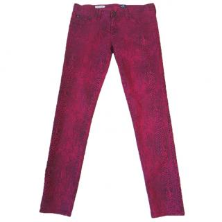 AG Jeans 'The Legging super skinny fit' snakeskin