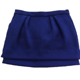 Maje Vivid Blue Mini Skirt