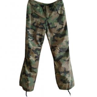 John Richmond Casual Camouflage Cargo Pants