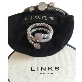 Links of London stardust toggle bracelet and ring