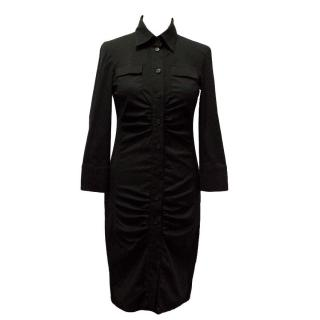 Patrizia Pepe black shirt dress