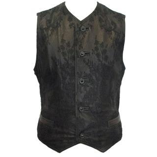 Gianni Versace Black Waistcoat