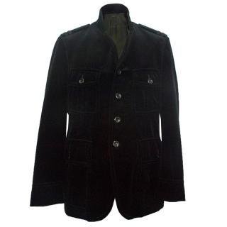 Tom Ford black velvet jacket