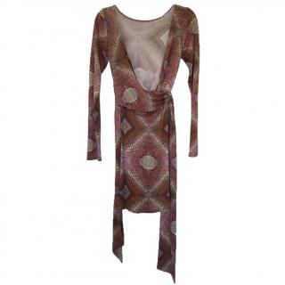 Issa Silk Jersey Wrap Dress