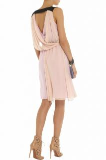 Vionnet pink silk-georgette dress