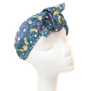 Jennifer Behr blue patterned headband