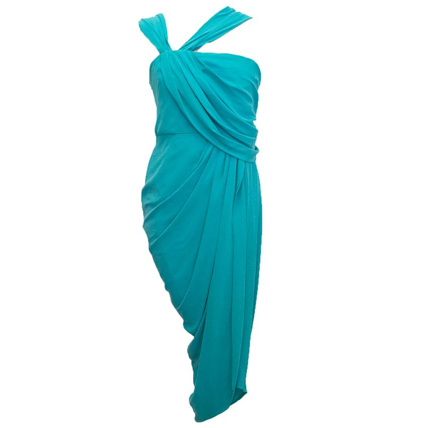 3.1 Phillip Lim Turquoise Silk Dress