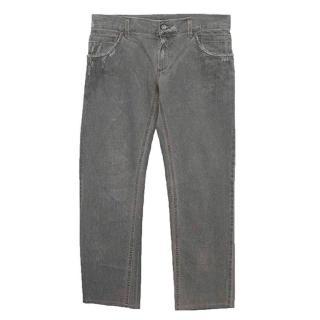 Dolce & Gabbana grey jeans