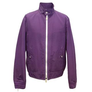 Tom Ford purple zip up jacket