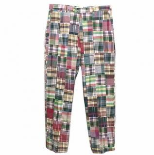 Daniel Cremieux Multicoloured Check Trousers